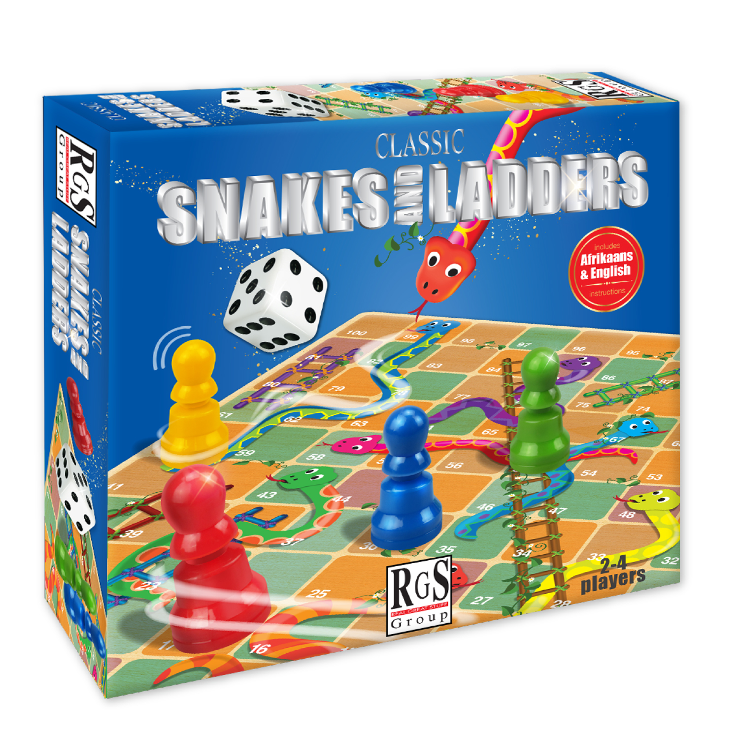5174 Snakes and Ladders Box
